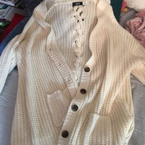 Urban outfitters bdg sweater cardigan size large